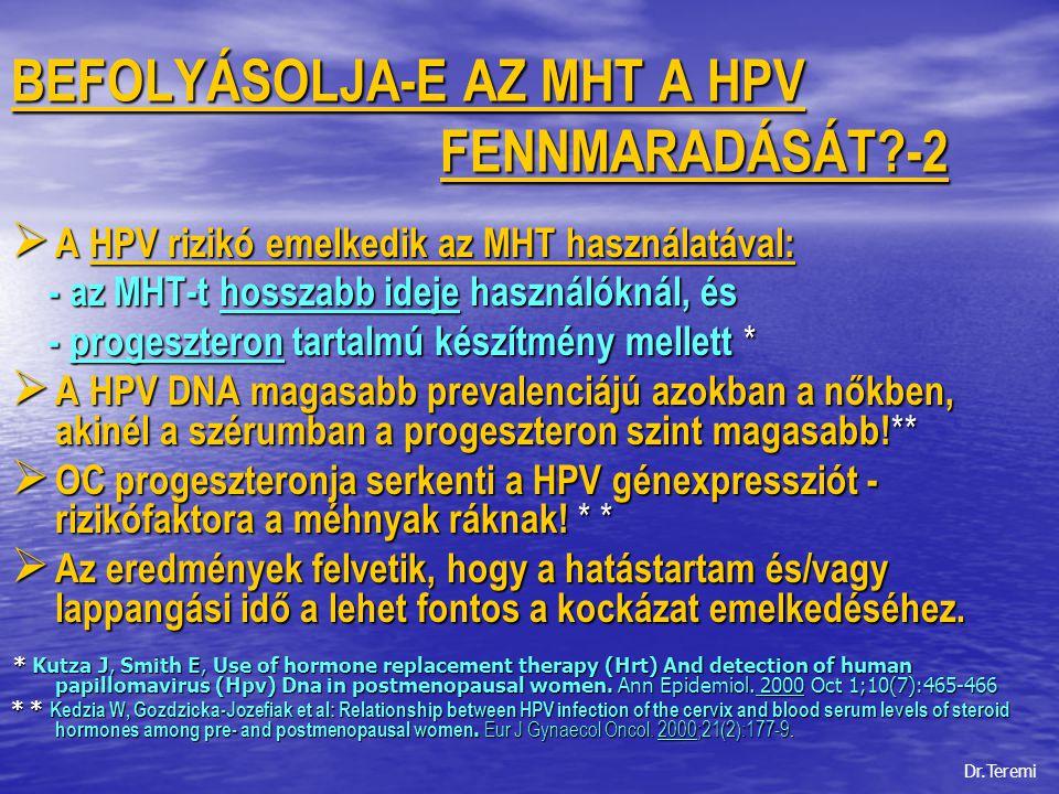 papillomavírus 2. szint helmint fertőzött gazdaszervezet