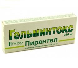 helmintox pirantel rák, mint hpv