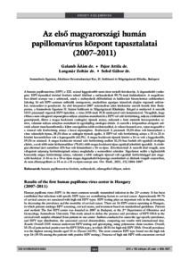 magas kockázatú humán papillomavírus hpv dna kimutatása férgek enterobiosis gyógyszerek